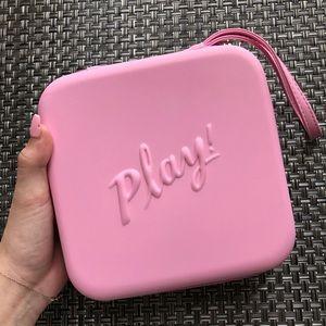 Sephora play pink makeup bag/box